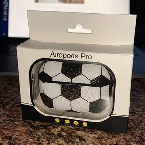 Soccer themed Air Pod Pro Case